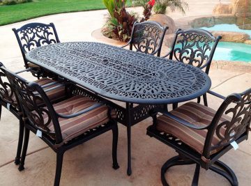 Iron Works — Table & Chairs Two